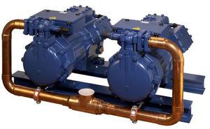 compressore frigorifero semiermetico / doppia vite / a velocità regolabile / per refrigerazione industriale