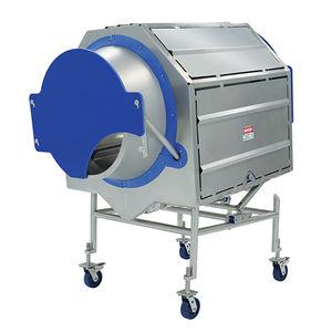 miscelatore a tamburo / discontinuo / per polvere / per l'industria agroalimentare