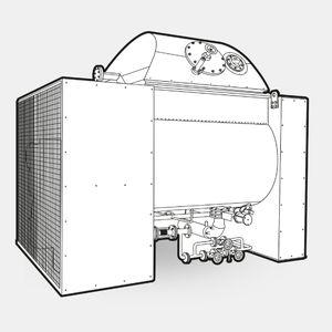 miscelatore dinamico / discontinuo / per l'industria agroalimentare / in acciaio inossidabile