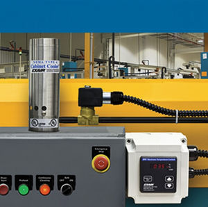 refrigeratore di aria compressa / ad uso industriale / per armadietto / a tubo vortex