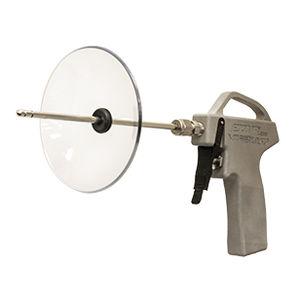 pistola ad aria compressa in alluminio