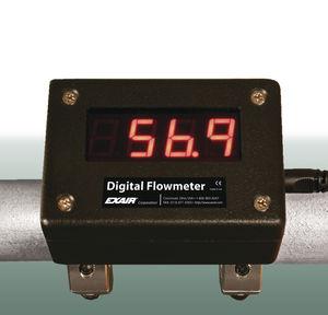 misuratore di portata per aria compressa / digitale / clamp-on