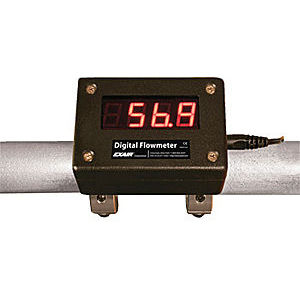 misuratore di portata a rotore / per aria compressa / digitale / con display LED