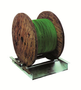 svolgitore per torrette / di cavi / per cavi elettrici / manuale