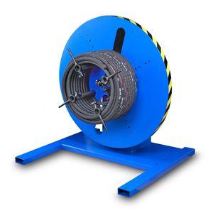 avvolgitore-svolgitore per tubi flessibili