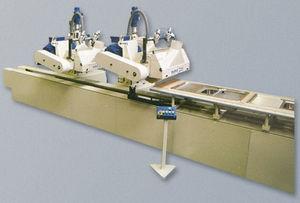 macchina lucidatrice per acciaio inossidabile / per alluminio / per legno / per pezzi piatti