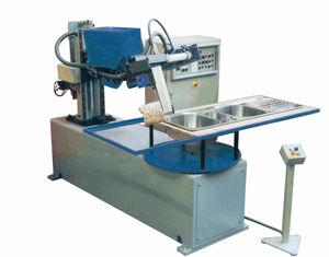 macchina lucidatrice per acciaio inossidabile / per pezzi piatti / CNC / a spazzola