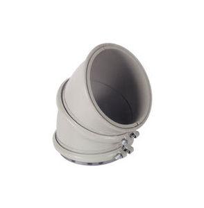 tubo rigido modulare / per trasporto pesante / per prodotti sfusi / a gomito
