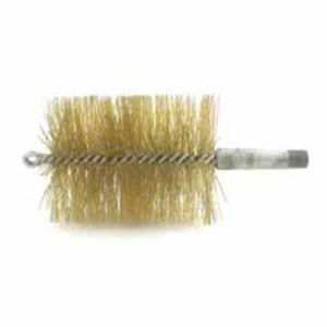spazzola cilindrica a spirale / a mazzetti ritorti / di pulizia / in acciaio inossidabile