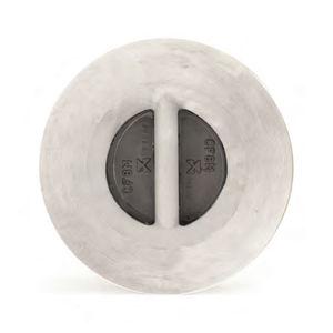 valvola di ritegno a disco / per vapore / in acciaio inossidabile / in bronzo