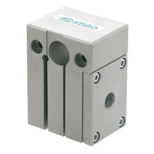 piastra di staffaggio automatica / rettangolare / in alluminio anodizzato
