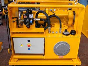 centralina idraulica con motore idraulico