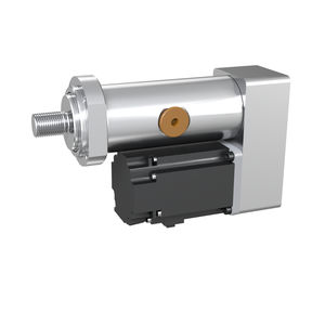 servo-cilindro elettrico / con viti a rulli / compatto / in struttura leggera