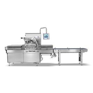 termosigillatrice di vaschette lineare / automatica / per l'industria agroalimentare / per l'industria farmaceutica