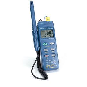 registratore di dati di temperatura / di umidità relativa / RS-232C / con display LCD