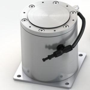 supporto antivibrazione cilindrico / in elastomero / di livellamento / bassa frequenza