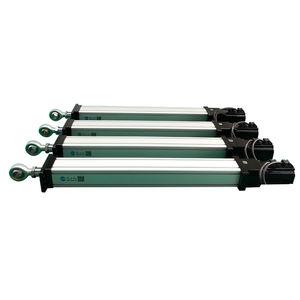 servo-cilindro elettrico / a doppio effetto / compatto / di precisione