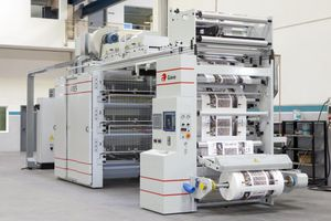 macchina da stampa flessografica stack / a 8 colori / a 6 colori / a 4 colori