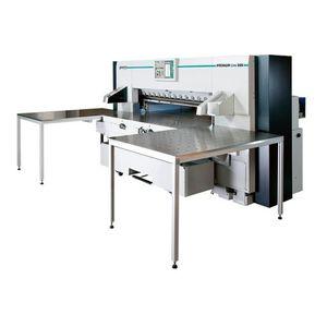 taglierina da carta con display digitale / ad alta velocità / di grandi dimensioni / con luce di precisione