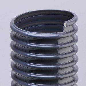 condotto d'aria flessibile / in PVC / per sistema di ventilazione / per estrazione di fumi