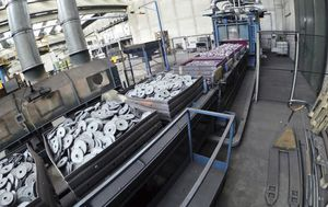 tempra acciaio / per applicazioni automotive / ISO 9001 / ISO 14001