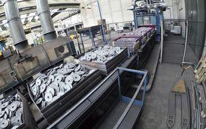 ricottura acciaio / per applicazioni automotive / ISO 9001 / ISO 14001