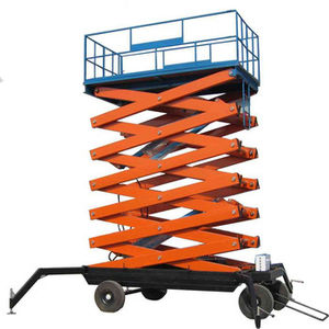 piattaforma di sollevamento / avvolgibile / elettrica / verticale