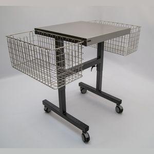tavolo di sostegno in acciaio inossidabile