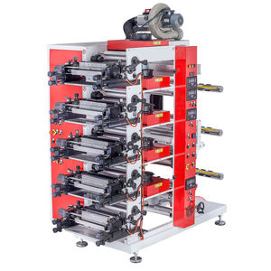 macchina da stampa flessografica a 5 colori