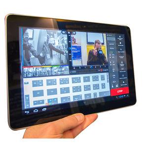 controllore di robot touch screen