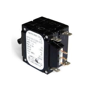 interruttore automatico idraulico-magnetico / multipoli / a riarmo manuale / da interno
