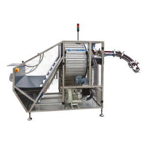 smistatore rotativo / automatico / per tappi / per coperchio