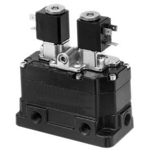 distributore pneumatico a valvola / azionato tramite solenoide / ad azionamento pneumatico / a 3/2 vie