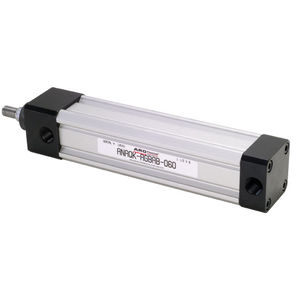 cilindro a doppio effetto / pneumatico / in acciaio inossidabile / in alluminio