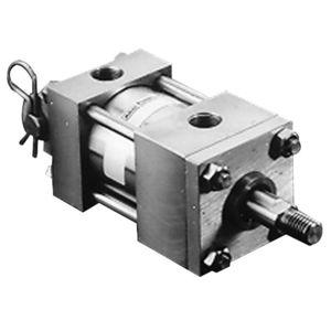 cilindro a doppio effetto / pneumatico / idraulico / di precisione