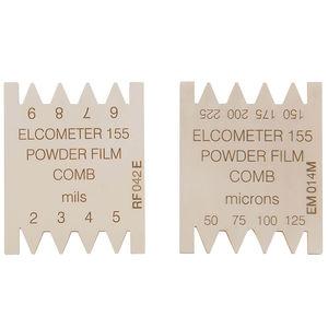 misuratore di spessore a pettine per film umido