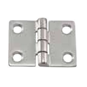 """COPPIA di cerniere a T zincato con perno in acciaio inox 12/"""" 300mm 2x"""