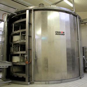 pressa per formaggio verticale / orizzontale / idraulica / in acciaio inossidabile