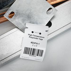 etichetta di identificazione / impermeabile / a trasferimento termico / codice a barre