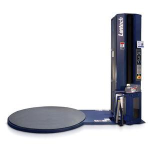 avvolgitrice fasciapallet a tavola rotante / semiautomatica / per prodotti finiti / per carichi