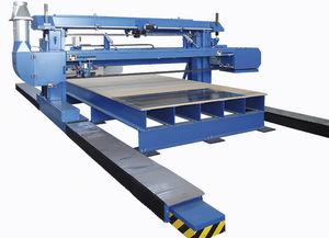 rettificatrice piana / per lamiera metallica / controllata da PLC / a ponte