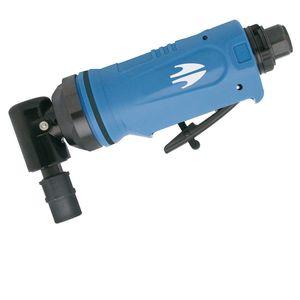 smerigliatrice angolare / pneumatica / dritta / con scarico posteriore