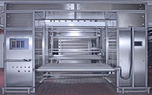 sistema di carico e scarico per prodotti alimentari