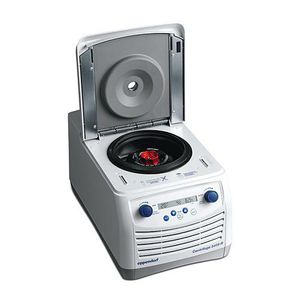 centrifuga da laboratorio / filtrante / da tavolo / compatta