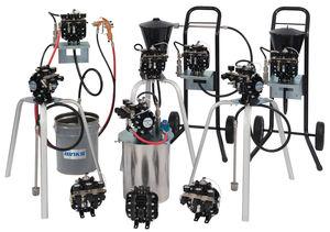 pompa per verniciatura / a doppia membrana / industriale / dosatrice