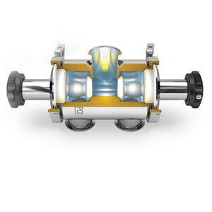 valvola a membrana radiale / con deviatore / a sede / igienica
