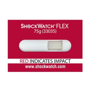 indicatore d'urto / etichette / in tubo / irreversibile
