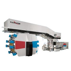 macchina da stampa flessografica a tamburo centrale