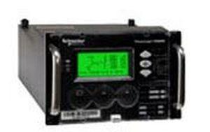 contatore di energia elettrica da montare su pannello / con display LCD