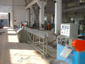linea di produzione per tubi scanalati